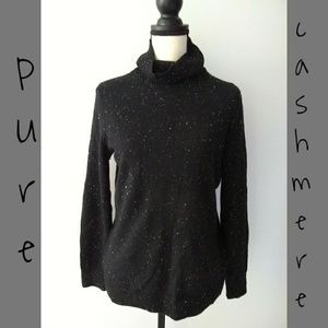 Cashmere Speckled Sweater